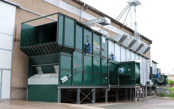 Alvan Blanch Biomass Drier CD13300 Czech Republic