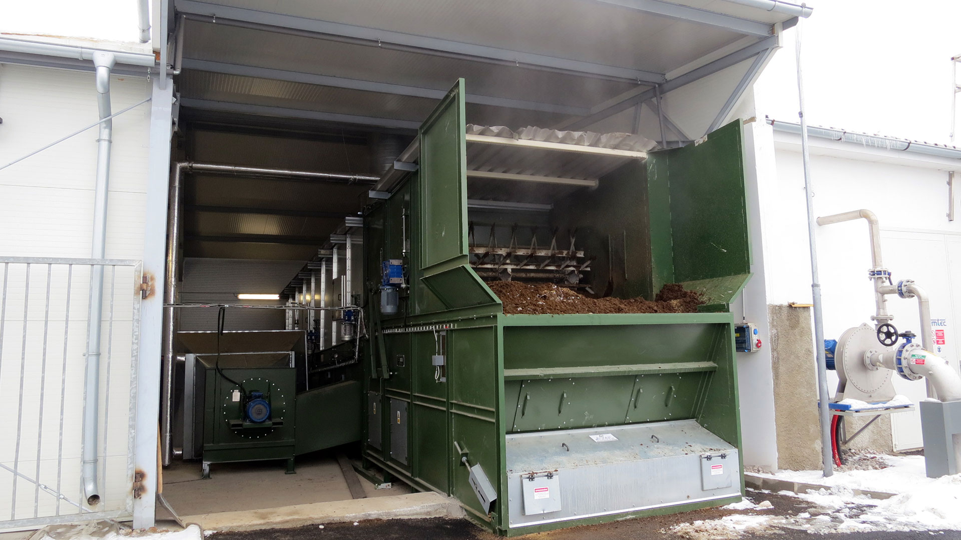 Conveyor Drier Alvan Blanch CD7900