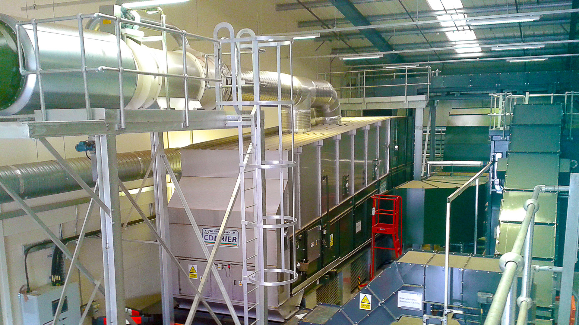 Conveyor Drier Alvan Blanch PCD5700