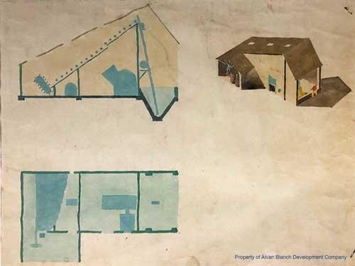 1946 Alvan Blanch Drier Concept