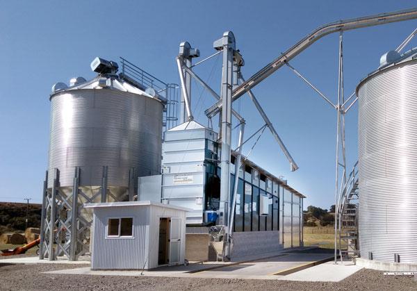 Alvan Blanch Double Flow Grain Drier DF17655 New Zealand