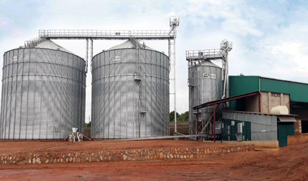 Alvan Blanch Grain Storage Drying Cleaning System Uganda