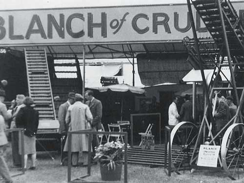 Blanch of Crudwell Stand Royal Agricultural Show 1948