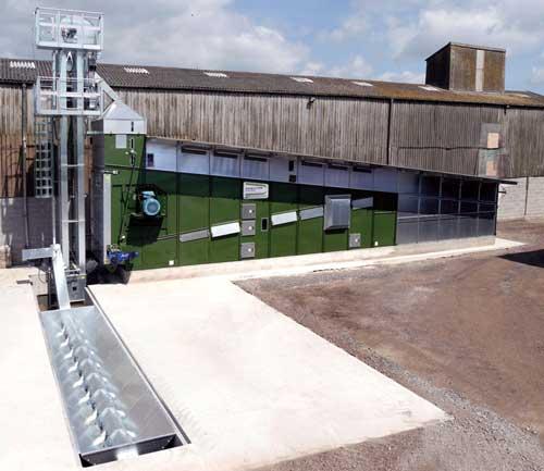 DF 25000 Grain Drier Alvan Blanch with SOBY Handling UK
