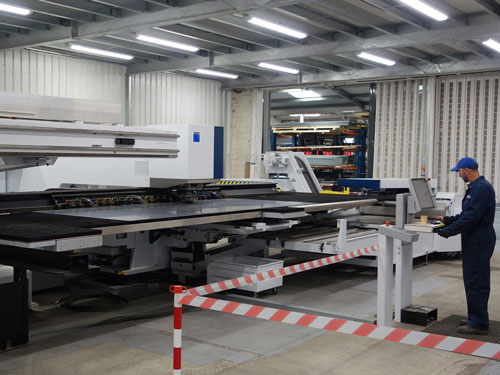 Trumpf Punch Press Operator at Alvan Blanch Factory
