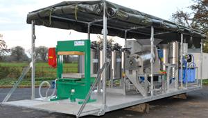 Alvan Blanch Skid Mounted Fruit Processing System