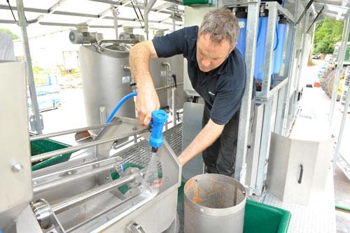 Alvan Blanch Skid Mounted Fruit Processing System Maintenance