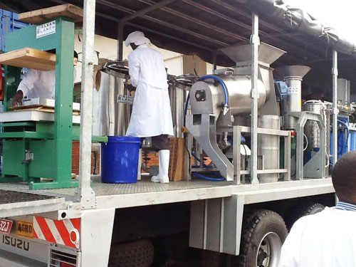 Alvan Blanch Skid Mounted Multi Juice Bottling Plant