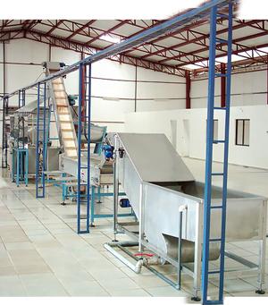 Alvan Blanch Static Fruit Processing System