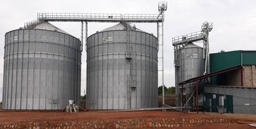 Grain Drying Cleaning System Uganda