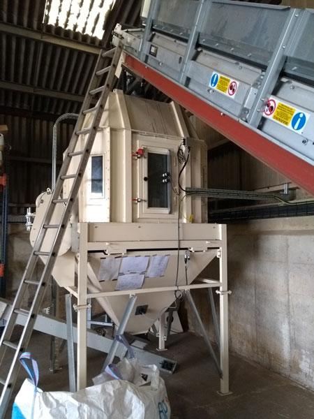 Alvan Blanch Counter Flow Cooler Installation