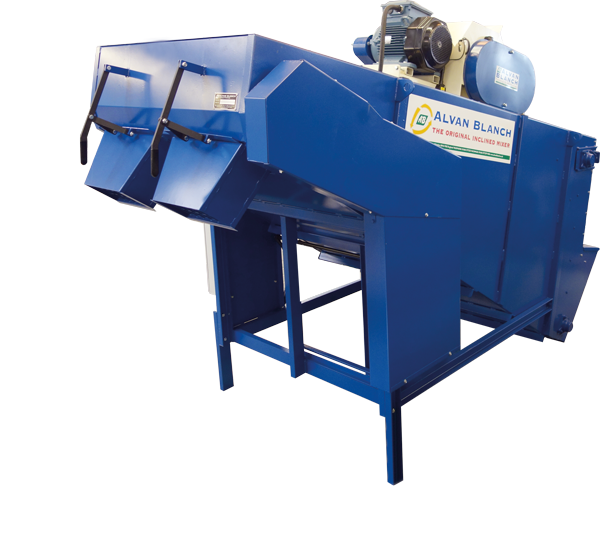 Alvan Blanch Meal Mixer with Roller Mill