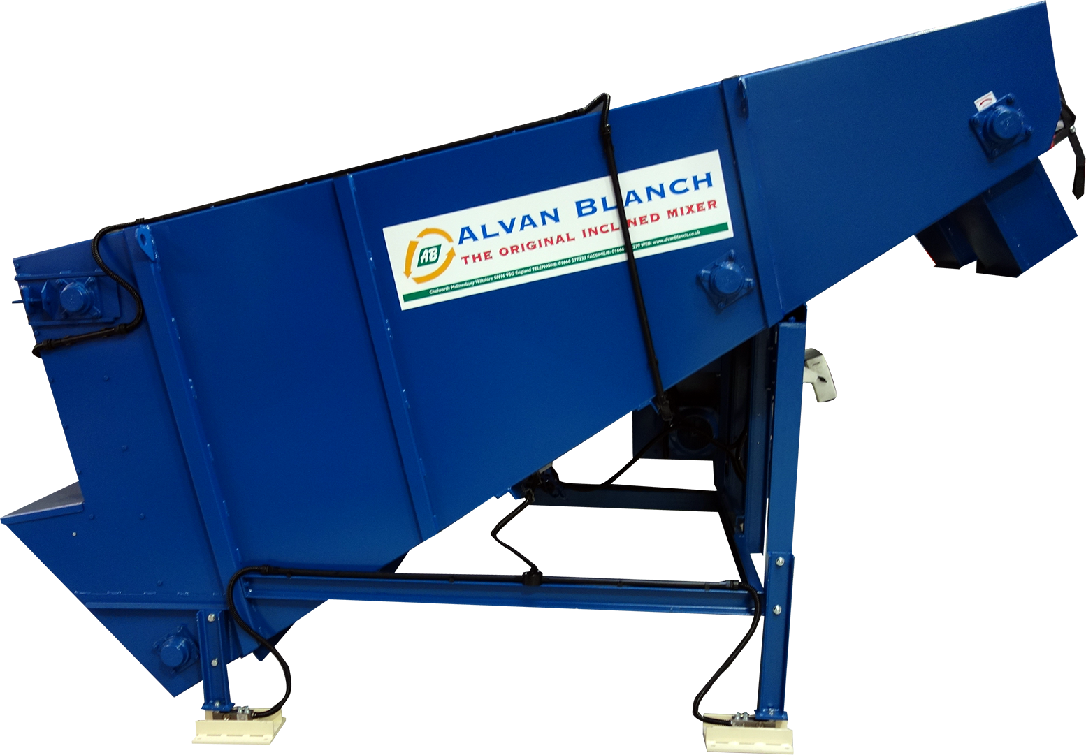Alvan Blanch Meal Mixer with load cells