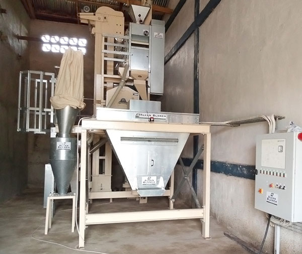 Alvan Blanch Rice Cleaning and Milling System
