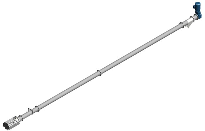 Alvan Blanch Screw Conveyor Long