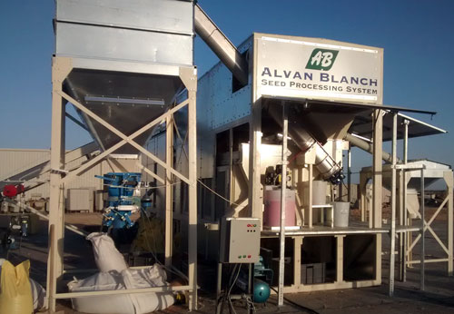 Alvan Blanch Seed Cleaning Treating System Egypt