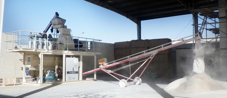 Alvan Blanch Skid Mounted Milling System Qatar 1