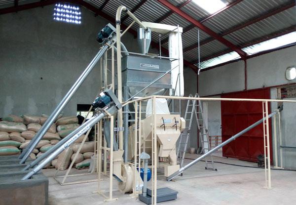 Screw Conveyors Alvan Blanch Feed Mill