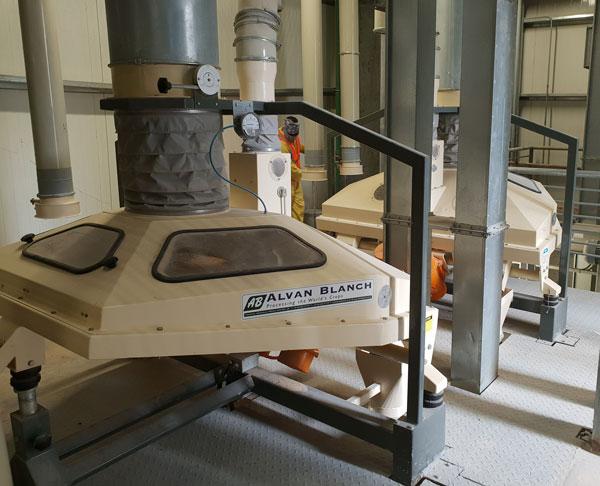 Alvan Blanch Destoner Vacuum Type Qatar