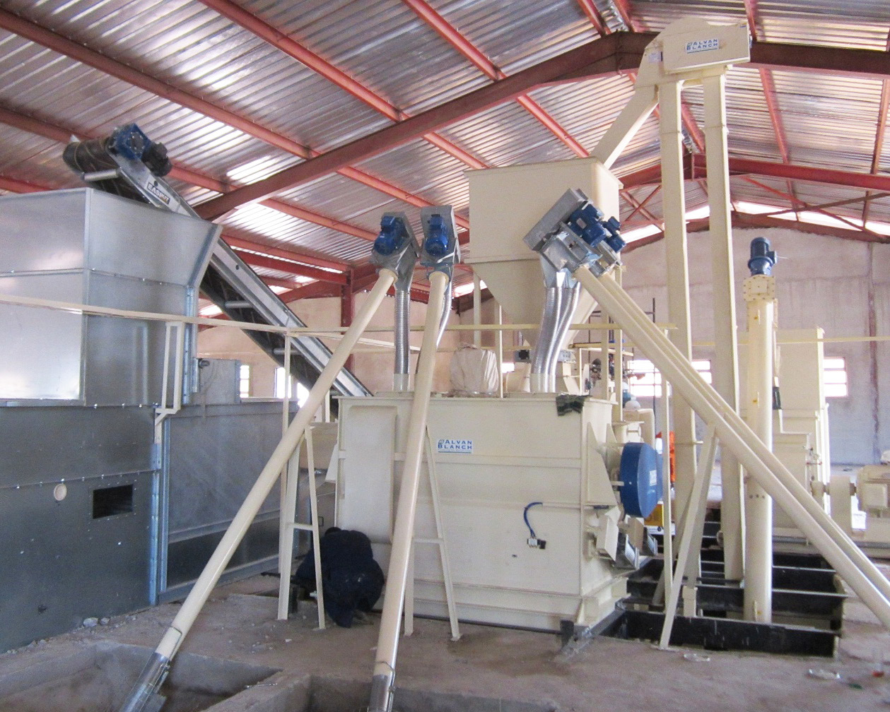 Alvan Blanch Feed Mill With Steam Extrusion – For Fish Feed Nigeria Page 1 Image 0002