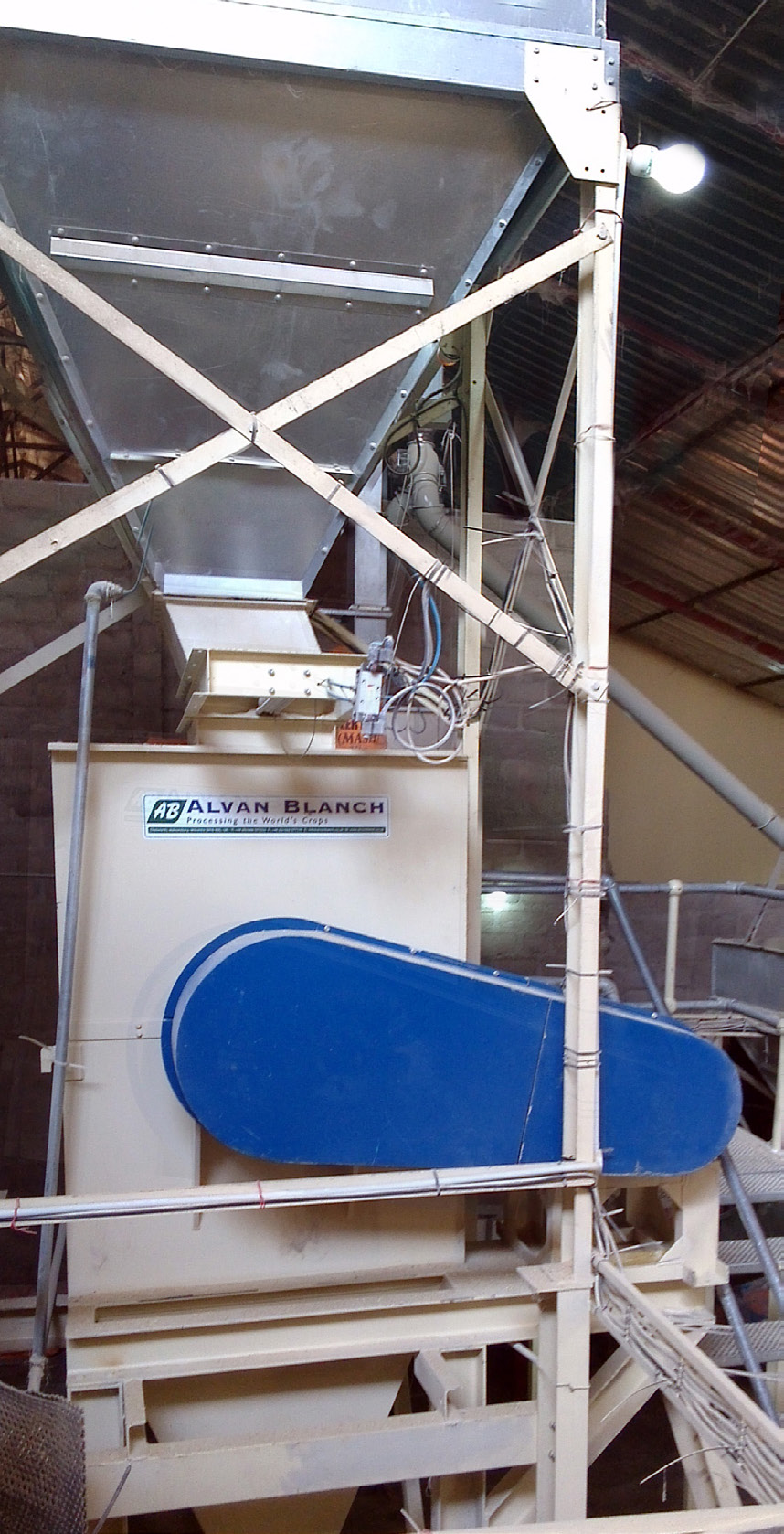Alvan Blanch Feedmill with Pelleting System Nazawara State Nigeria Page 1 Image 0001