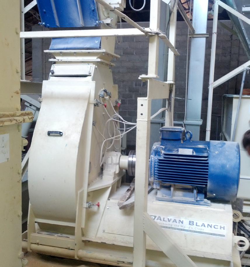 Alvan Blanch Feedmill with Pelleting System Nazawara State Nigeria Page 1 Image 0006