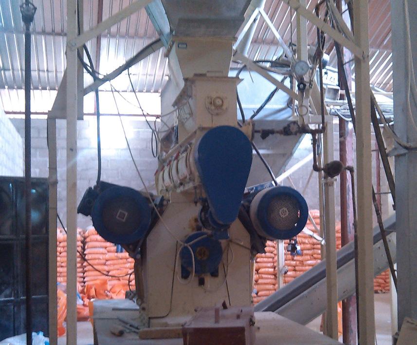 Alvan Blanch Feedmill with Pelleting System Nazawara State Nigeria Page 2 Image 0003