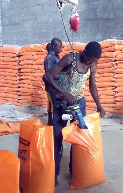 Alvan Blanch Feedmill with Pelleting System Nazawara State Nigeria Page 2 Image 0008