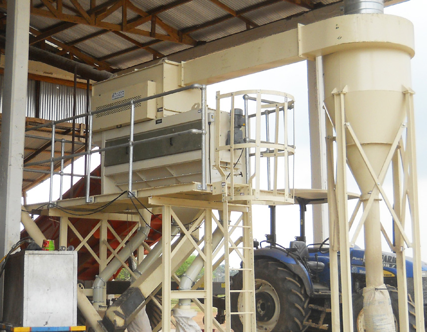 Alvan Blanch Maize Drying and Cleaning System Agogo Ghana Page 1 Image 0005
