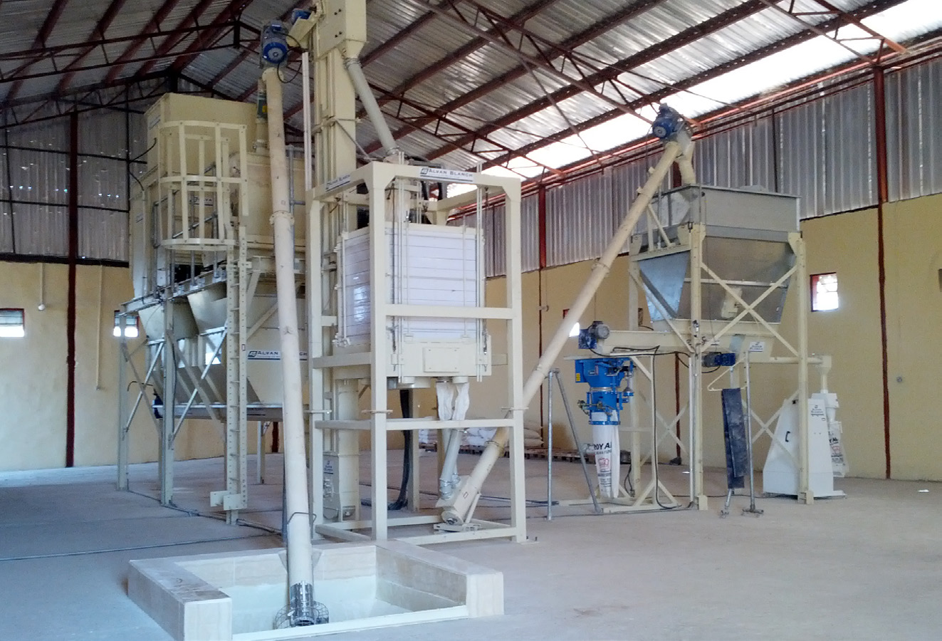 Alvan Blanch Maize and Cassava Flour Milling System Benue State Nigeria Page 1 Image 0002