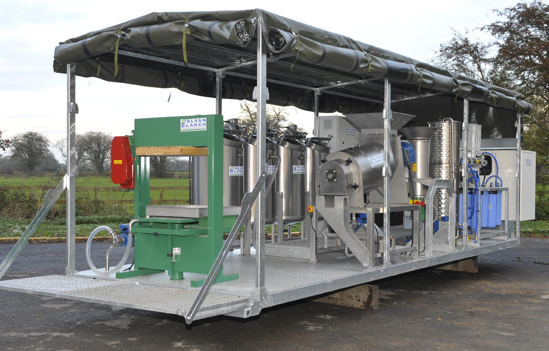 Alvan Blanch Mobile Fruit Juice Processing System Kampala Uganda Page 1 Image 0003