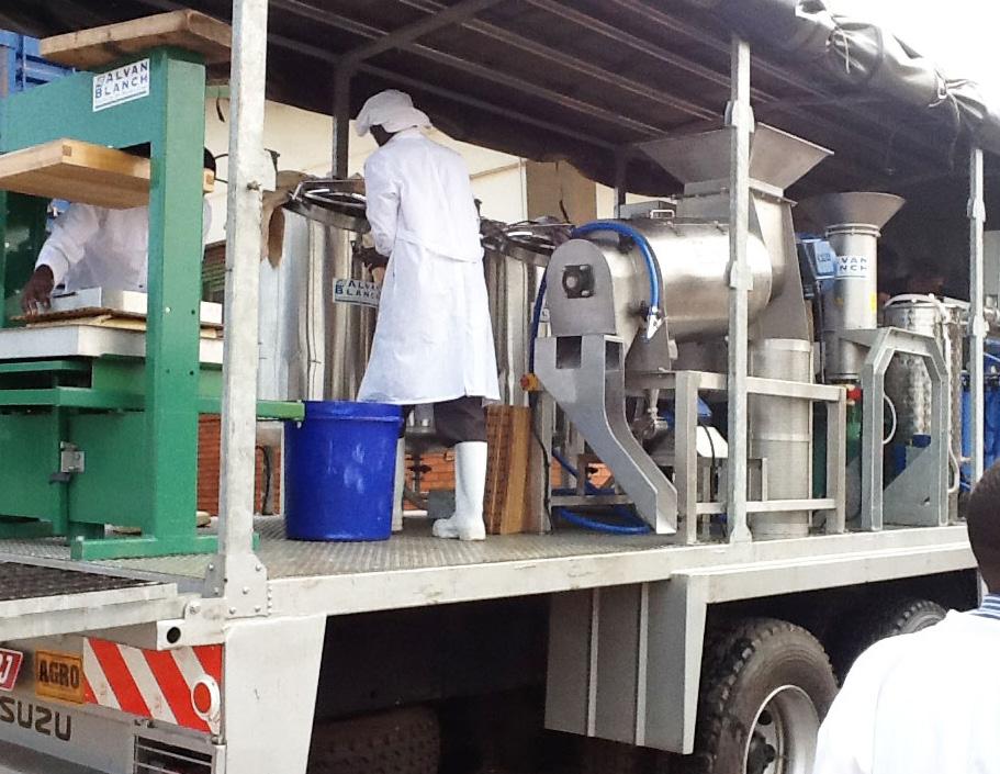 Alvan Blanch Mobile Fruit Juice Processing System Kampala Uganda Page 4 Image 0005