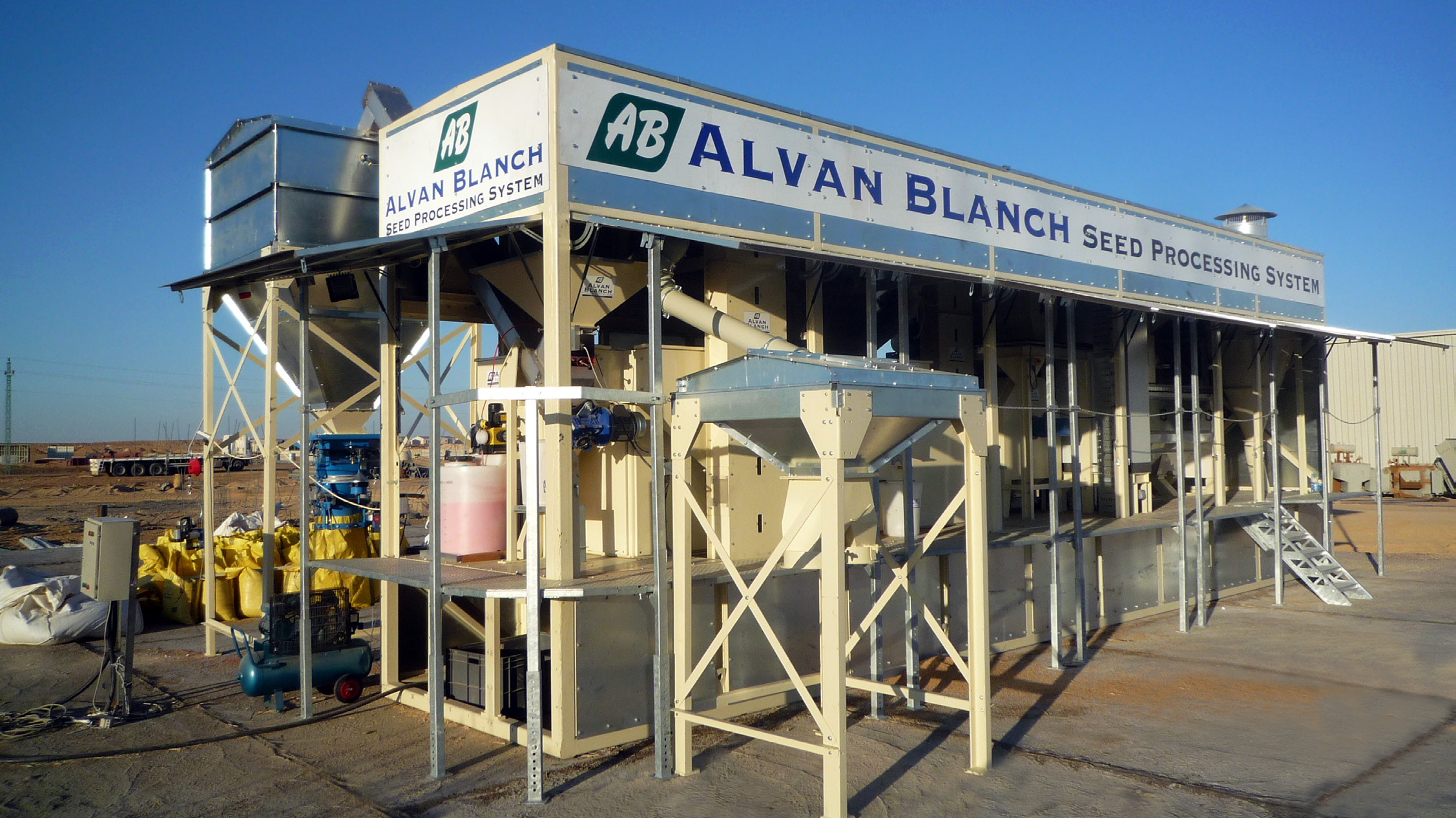 Alvan Blanch Skid Mounted Seed Cleaning Plant Sudan and Egypt Page 4 Image 0001