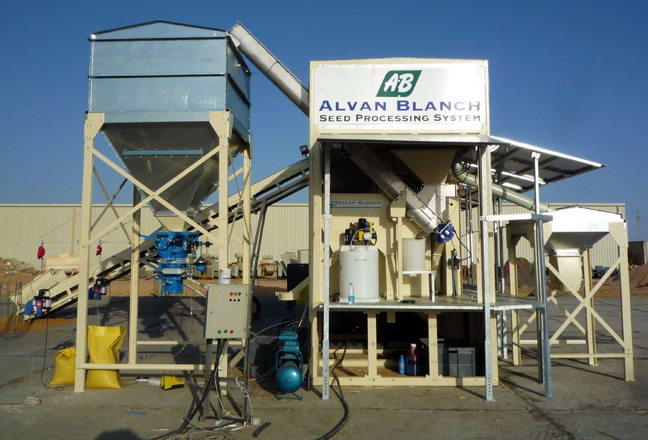 Alvan Blanch Skid Mounted Seed Cleaning Plant Sudan and Egypt Page 4 Image 0002